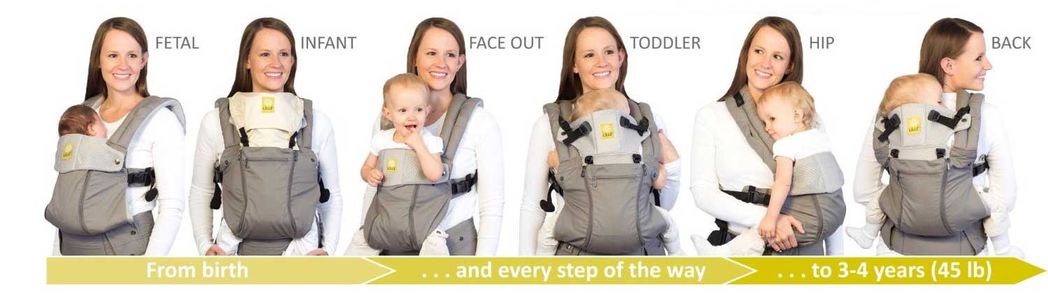 de82d7bff81 LILLEbaby Complete Airflow Baby Carrier