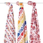 aden + anais - Organic Swaddles (3 Pack)