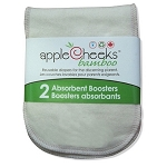 AppleCheeks One Size Bamboo Boosters - 2 Pack