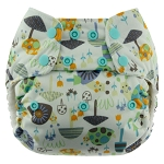 Blueberry One Size Simplex All-In-One Organic : OLDER STYLE