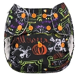 Blueberry Diapers - Trick or Treat