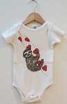 Carved Life Organic Cotton Onesie - Sloth
