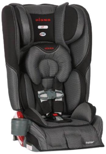 Home Car Seats Accessories Diono Rainier Convertible Booster Seat Shadow