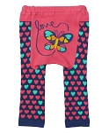 Doodle Pants Hot Pink Butterfly Leggings
