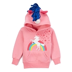 Doodle Pants Unicorn Hoodie With Horn