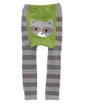 Doodle Pants Woodland Raccoon Leggings