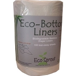 EcoSprout - Biodegradable Bamboo Eco-Bottom Diaper Liners