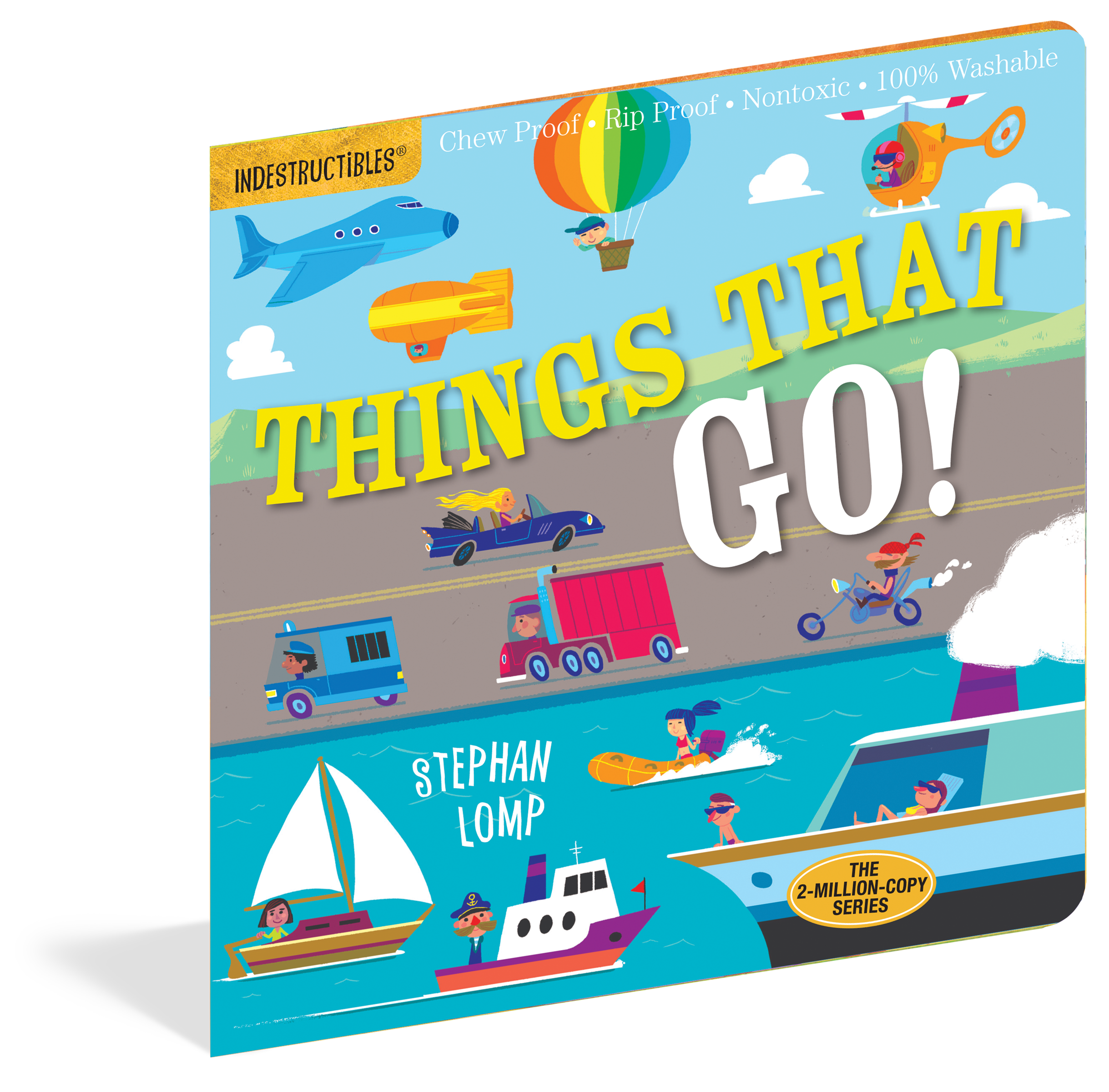 Indestructibles Baby Books Things That Go border=