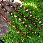 Natural Baltic Amber Teething Necklaces