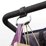 Oxo Tot Handy Stroller Hooks - 2 Pack, Gray