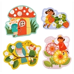 Petit Collage Fairy Friends Beginner Puzzle