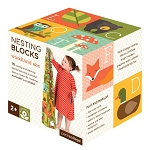 Petit Collage Woodlands ABC Nesting Blocks