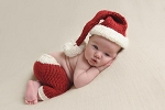 The Blueberry Hill Newborn Santa Set