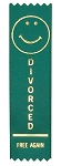 Adulting FTW - Divorced Free Again Award Ribbon