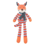 Apple Park Frenchy Fox Organic Plush Toy