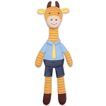 Apple Park George Giraffe Organic Plush Toy