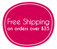 Free Shipping on orders over $35 to the USA
