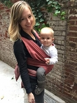 XOXO Buckle Wrap Baby Carrier - Eco2 Fabric