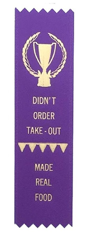 Adulting FTW - Made Real Food Award Ribbon