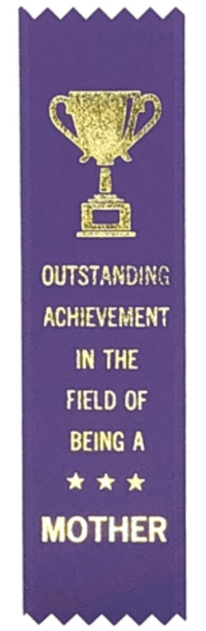 Adulting FTW - Mother Award Ribbon