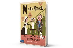 BabyLit ~  M is for Monocle