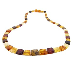 "The Amber Monkey 17-18"" Necklace"