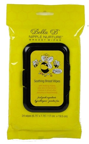 Bella B ~ Nipple Nurture Breast Wipes