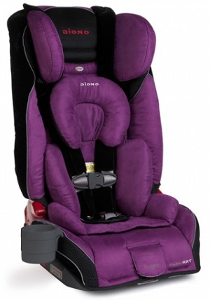 Diono RadianRXT Convertible & Booster Car Seat - Plum