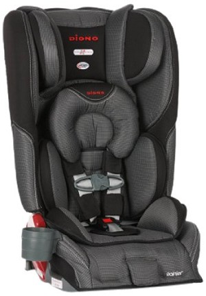 Diono Rainier Convertible & Booster Car Seat - Shadow