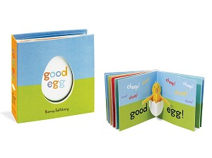 Good Egg - a Pull Tab Book by Barney Saltzberg