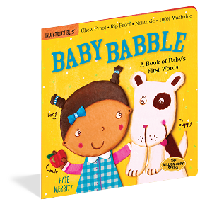 Indestructibles Baby Books: Baby Babble