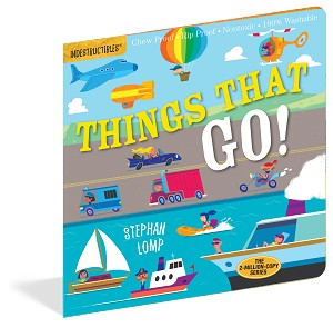 Indestructibles Baby Books: Things That Go