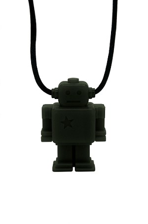 Jellystone Designs ~ Robot Teething Necklace