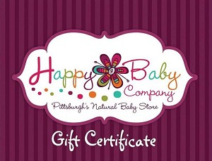 Gift Certificate (sent via post office)