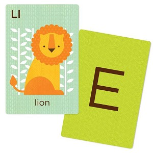 Petit Collage Animals A-Z Flash Cards