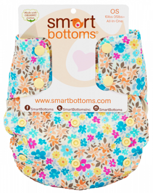 Smart Bottoms - Smart One Organic One-Size All-in-One