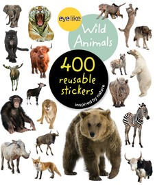 EyeLike Stickers - Wild Animals