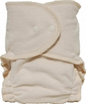 Babee Greens Hemp/Organic Cotton Fitted Diaper