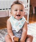 Copper Pearl Single Bandana Bib