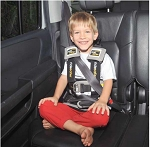 RideSafer For Kids Children's Harness Car Seat - Booster Seat Alternative