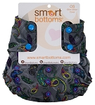 #hbcexclusive - Smart Bottoms - True Colors - Too Smart One Size Cover - AS IS - FINAL SALE