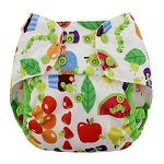 Blueberry One-Size Capri Diaper Covers