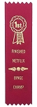 Adulting FTW - Finished Netflix Award Ribbon