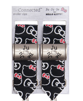 Ju-Ju-Be ~ Be Connected Stroller Clips: Hello Kitty