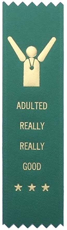Adulting FTW - Adulting Really Really Good Award Ribbon